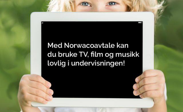 Musikk, film og TV i undervisningen